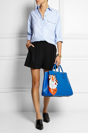 Anya Hindmarch Ebury Maxi Frosties textured-leather tote