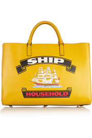 Anya Hindmarch Ship Ebury Maxi textured-leather tote