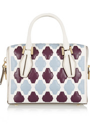 D-Cube Bauletto mini printed leather tote