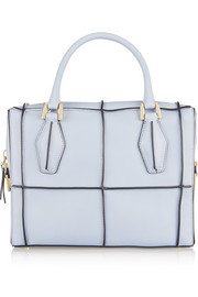 Tod's D-Cube Piccolo Check leather tote