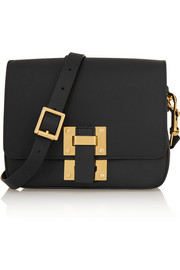 Sophie Hulme Box Flap small leather shoulder bag