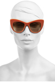 Stella McCartney Cat eye acetate sunglasses