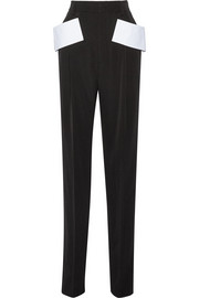 Givenchy Grain de poudre pants with cady detail
