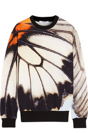 Givenchy Sweatshirt in cotton-terry with butterfly print