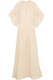 Chloé Silk-georgette gown