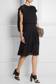 Chloé Silk-georgette dress
