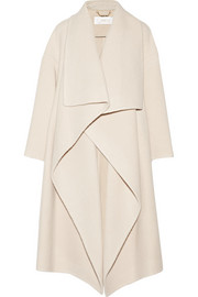 Chloé Draped alpaca-blend coat