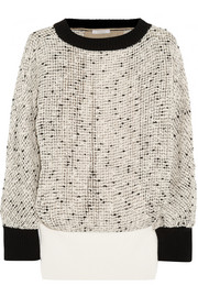 Chloé Open-knit cotton-blend sweater