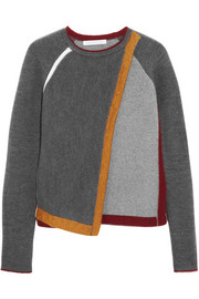 J.W.Anderson Wrap-effect wool-blend sweater