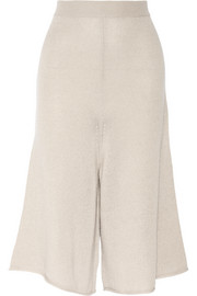 Iconic cashmere culottes