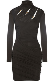 Emilio Pucci Cutout jersey mini dress