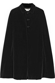 Saint Laurent Velvet cape