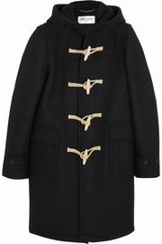 Saint Laurent Wool-felt duffle coat