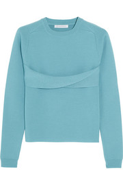 J.W.Anderson Twist-front merino wool sweater