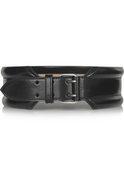 Alexander McQueen Leather waist belt