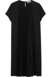 Bouchra Jarrar Pleated crepe dress