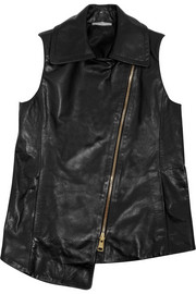 Bouchra Jarrar Leather vest