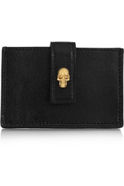 Alexander McQueen Leather cardholder
