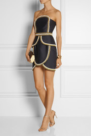 Sass & bide The Cold Snap embellished cotton and silk-blend dress