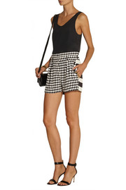 Sass & bide Fair Exchange printed crepe shorts