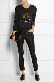 Markus Lupfer Ferris Wheel embellished merino wool sweater