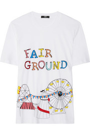 Markus Lupfer Fairground sequined cotton T-shirt