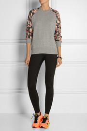 Markus Lupfer English Rose cotton-terry sweatshirt