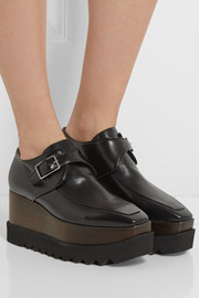 Stella McCartney Faux leather platform loafers