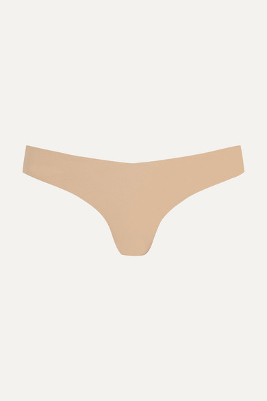 commando female commando stretch thong beige