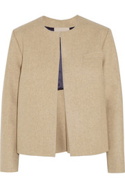 Delmore wool-felt jacket
