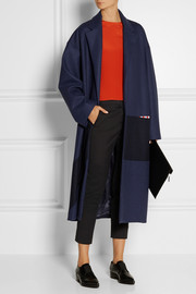 Roksanda Ilincic Larkin paneled wool-blend coat