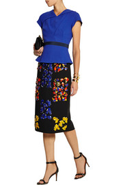 Peter Pilotto Wool-crepe top