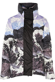 Peter Pilotto Printed quilted down coat
