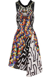 Peter Pilotto Printed cloqué dress