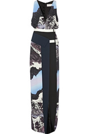 Peter Pilotto Nika printed stretch-crepe gown