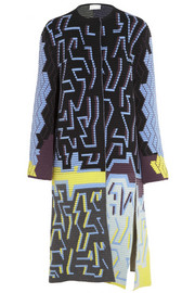 Peter Pilotto Ribbed wool-blend coat