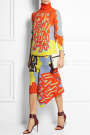 Peter Pilotto Color-block wool-blend sweater
