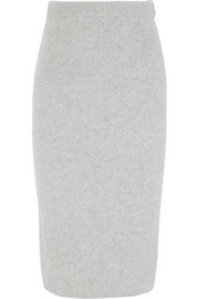 Joseph Brushed-cashmere midi skirt