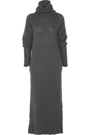 Joseph Ribbed-knit wool midi dress