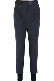 Toga Cotton and mohair-blend twill tapered pants