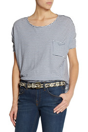 Isabel Marant Debie braided elaphe belt