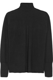 Dion Lee Open-back wool turtleneck sweater
