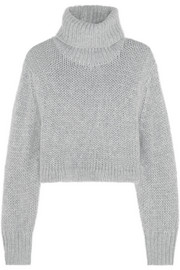 Dion Lee Cropped knitted turtleneck sweater
