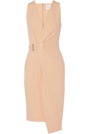 Dion Lee Wrap-effect crepe dress