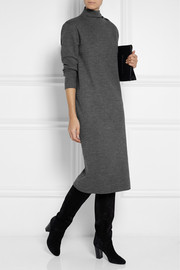 1205 Wool and cashmere-blend midi dress