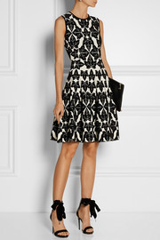 Alexander McQueen Chenille jacquard-knit dress