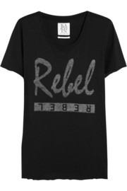 Zoe Karssen Rebel cotton and modal-blend T-shirt