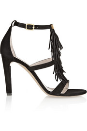 Chloé Fringed suede sandals