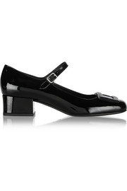 Saint Laurent Patent-leather Mary Jane pumps