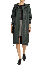 Stella McCartney Technical taffeta parka